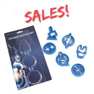 Marvel Heroes Cookies/ Fondant Cutter - ( Clearance sales )