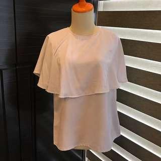 Maternel Nursing Wear White Top (Fashion Ibu) (Atasan Wanita)