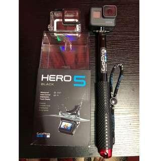 GoPro Hero 5 Black Fullbox Original