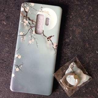 Samsung S9 Plus Soft Case - Flora