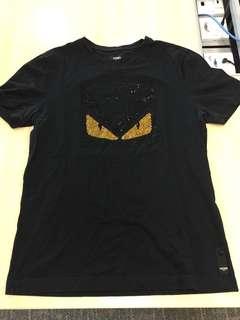 Authentic Fendi Monster Swarovski Sequin Shirt 513b61a4d78b1