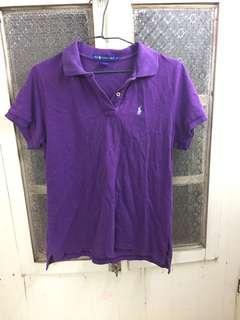 Ralph Lauren 小馬polo衫/XL號/紫色/有小瑕疵
