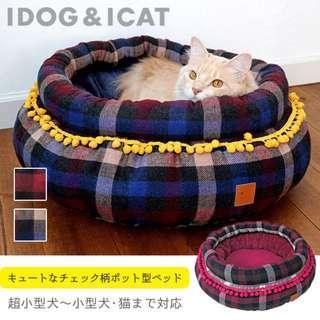 日本直送 寵物暖窩 貓床 狗床 寵物床 暖墊