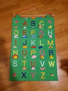 Growing fun alphabet felt chart