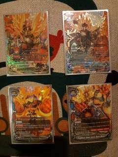 Buddyfight Burn Nova set