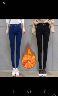 Black Velvet Jeans