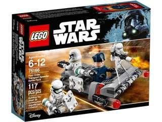 75166 lego starwars First Order Transport Speeder Battle Pack