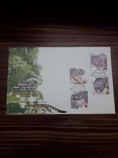 2000 FDC Protected Mammals (Series II)