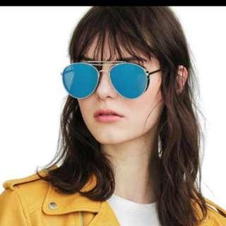 fa87d3d90f37 Gentle Monster Sunglasses. Sold. Gentle Monster Sunglasses. S 200. Brand  new Gentle Monster big bully Silver with blue ...