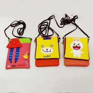 Kids sling bag all for rm20