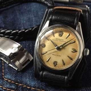 SOLD-       Rare 1950s Rolex Oyster Speedking