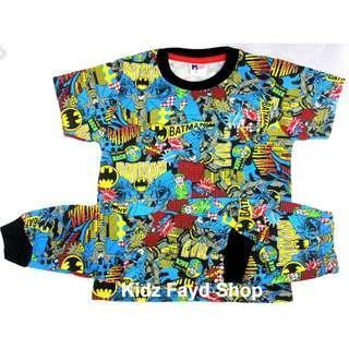 kids clothing fashion Boys and Girls tshirt pyjamas -Batman