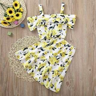 Sunflower 1Set Dress