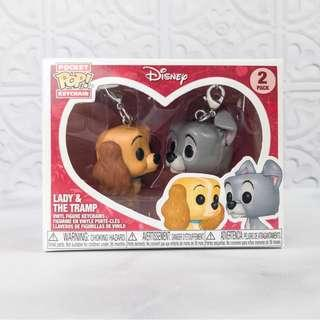 🚚 Funko Pocket POP! Keychain Disney - Lady and The Tramp (2-Pack)