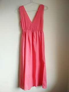 Long Dress Peach