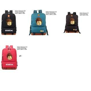 In stock: Roblox Backpack/ Roblox Primary School Bag