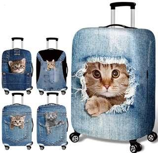 3D Cats/Kittens Stretchable Luggage's Cover