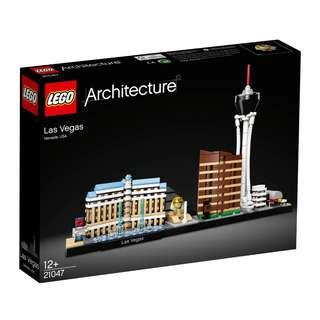 Authentic Lego architecture 21047