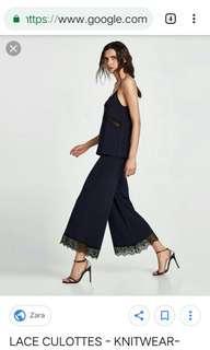 Zara Knit Culotte