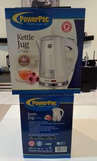 🚚 Brand new PowerPac Electric Kettle 1.7L Power Pac