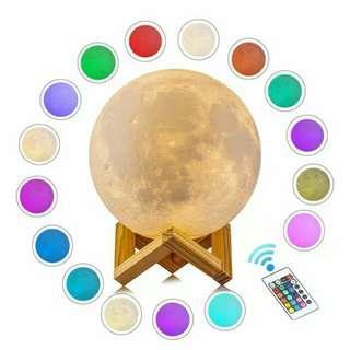 Moon lamp 15 cm 16 warna