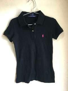 Polo shirt Hitam Original