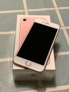 95% new iphone 7 128gb pink