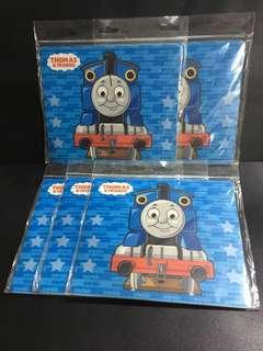 5 Pcs Thomas & Friends Tank Engine Boys Blue Mousepad Coaster Matt Table Mat Dish Placemat Pad Christmas Gift