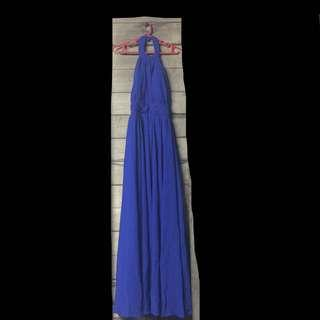 For rent - royal blue long dress for occasions