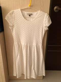 Lzzie White Lace Dress