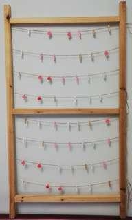 結婚用品 麻繩照片 木相架裝飾