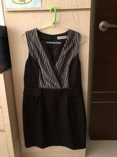 Sans & Sans Black Dress