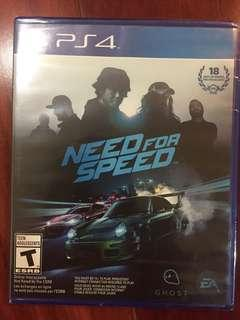 🚚 PS4 Need for speed 全新
