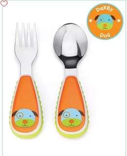 #Skiphop# Zootensils Fork and Spoon