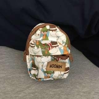 🚚 Moomin 嚕嚕米 化妝包 小背包