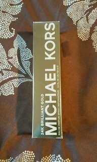 MICHAEL KORS 24 k Brilliant Gold