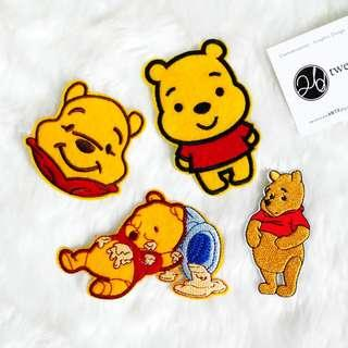 Iron On Patch | Winnie the pooh | Pooh Bear