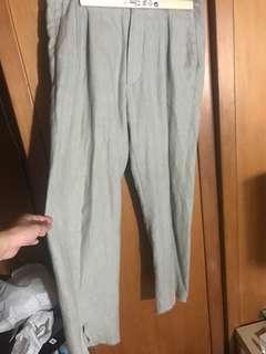 Bukht center slit trousers