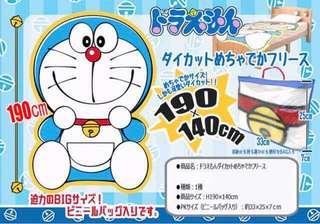 KOAOISORA 2月預訂 Doraemon 多拉A夢 - Die-cut Super Big Fleece★190x140cm 叮噹 ドラえもん 景品睡毯 (全新)