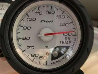 Defi gauges