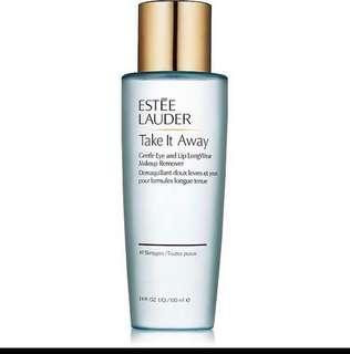 ESTEE Lauder take it away make up remover