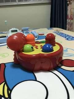 Hit worm fun toy