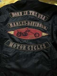 Harley Davidson 夾棉外套