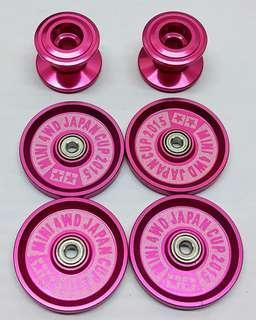 Tamiya Mini 4wd Pink Rollers