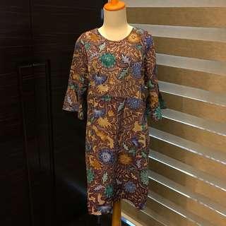 Brand New Baju Island Batik Dress (Nursing Wear) (Fashion Wanita)