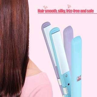 Mini Hair Straightener (Pink Color)