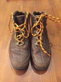正Timberland真皮防水登山鞋UK9.5