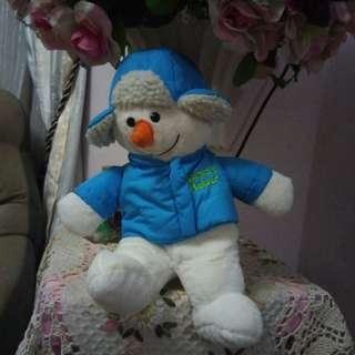 Dan Dee Santa Helper Snowman plush toy #xmas50