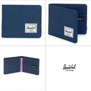 [Instocks!] Herschel Bi-Fold Roy Wallet (Navy Blue)
