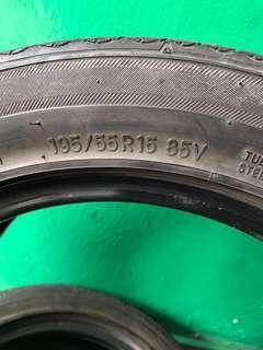 Tayar 195/55R15 2pcs RM80